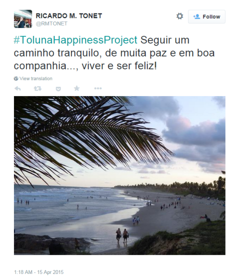 Twitter winner-happiness