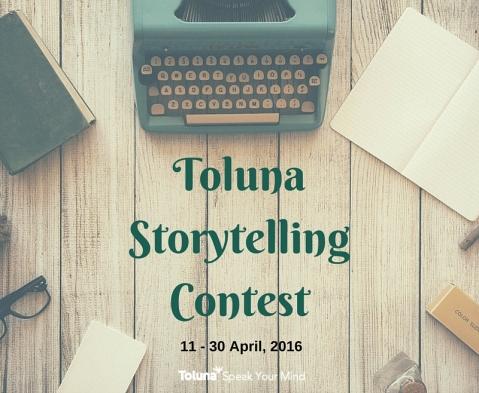 Toluna Storytelling Contest