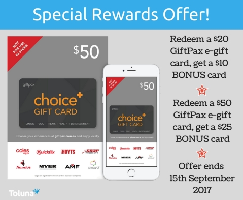 Giftpax promo